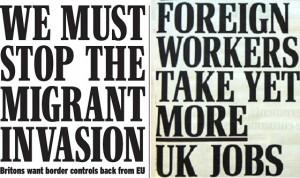 migrant headlines